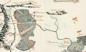 """Tolkien, ritrovata mappa Terra di Mezzo """"ispirata a Ravenna"""""""