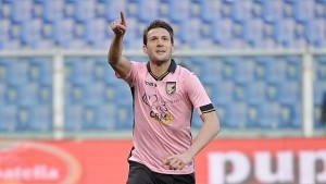 Guarda la versione ingrandita di Palermo-Sampdoria 2-0: foto e highlights. Vazquez decisivo (foto Ansa)