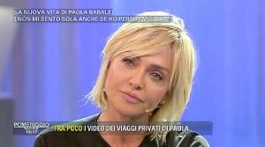 """Paola Barale: """"Non sto bene, unica soluzione è operazione"""""""