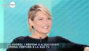 """Guarda la versione ingrandita di Simona Ventura: """"La Rai? Mi ha dato tanto ma forse…"""""""