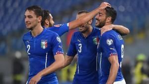 Guarda la versione ingrandita di Italia-Scozia 1-0: video gol highlights e pagelle. Pellè c'è