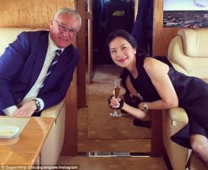 Claudio Ranieri, volo da Roma su jet da 54 milioni di euro