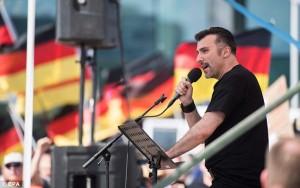 Il militante di estrema destra di orgini italiane Eric Graziani (Ansa)