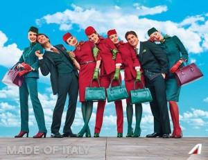 Alitalia, nuove divise il verde lascia il posto al rosso8