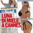 Paola Ferrari, in bikini a Cannes col marito 03