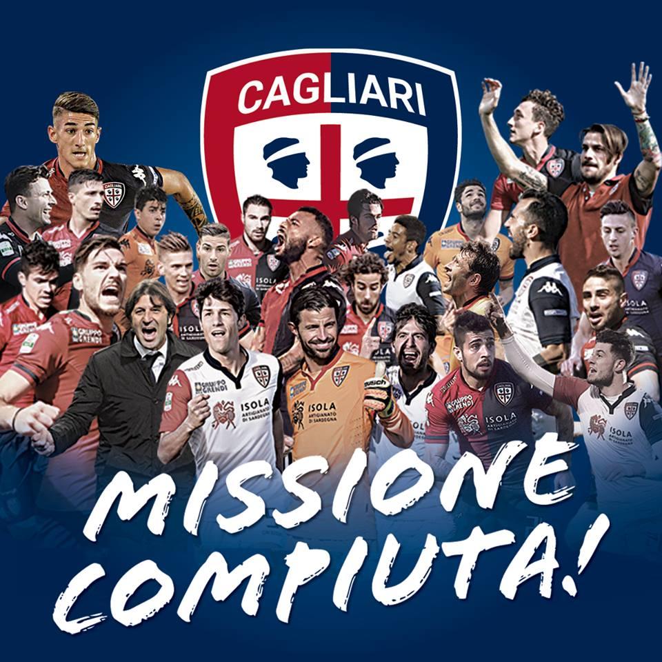 Cagliari in Serie A, festa tifosi in città: video e foto