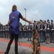 Cane poliziotto giura di essere fedele al padrone4