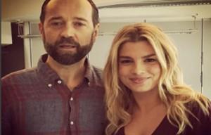 Emma Marrone e Fabio Volo (foto Facebook)