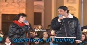 """Fiorello e una giovanissima Elisa ai tempi di """"Karaoke"""""""