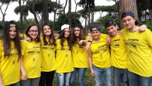 I ragazzi dell'Istituto Comprensivo Karol Wojtyla al concorso della Regione Lazio Un brano contro la mafia