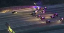 VIDEO-FOTO Inseguimento da film su superstrada Los Angeles