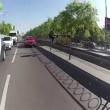 Kiev, lascia la moto e insegue ladro a piedi