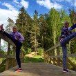 Leila, Liina, Lily Luik: gemelle maratonete a Olimpiadi5