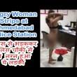 Litiga con agenti, si spoglia nuda nel commissariato