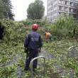 Milano, violento nubifragio: Lambro esonda10