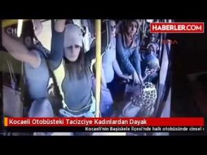 YOUTUBE Molesta ragazza su bus, gruppo di donne lo picchia
