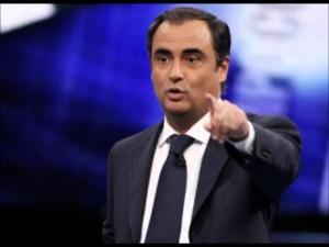 """Champions, Fiorello a Piccinini: """"Ti prego dì sciabolata..."""""""