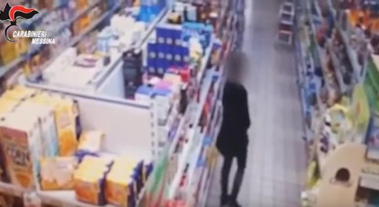 Rapinavano supermercati a Messina, ecco come