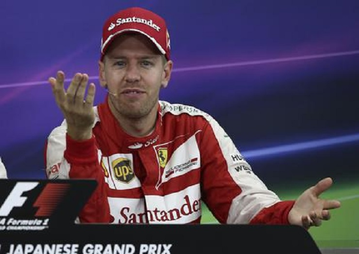 Sebastian Vettel (foto Ansa)