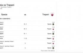 Spezia-Trapani, streaming e diretta tv: dove vedere Serie B