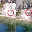 Salta con bungee jumping e sbatte sulla roccia 6