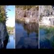 Salta con bungee jumping e sbatte sulla roccia 3
