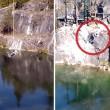 Salta con bungee jumping e sbatte sulla roccia 7
