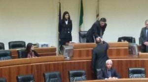 Guarda la versione ingrandita di Sardegna: Satta consigliere giura dopo arresto per spaccio