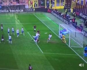 Guarda la versione ingrandita di Luca Antonelli video gol rovesciata in Milan-Frosinone