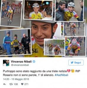 """Rosario Costa, morto investito il """"figlioccio"""" di Nibali_2"""