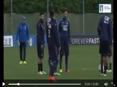 VIDEO Stephan El Shaarawy, numeri in allenamento