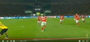 Bayern-Borussia Dortmund 4-3, video rigori Coppa Germania