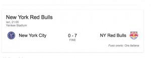 VIDEO YOUTUBE Andrea Pirlo derby New York da incubo: ko 0-7