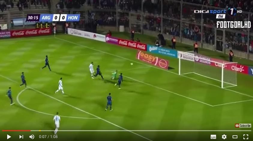 Gonzalo Higuain che magia contro Honduras