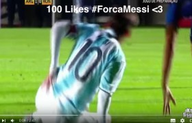 YOUTUBE Lionel Messi infortunio in Argentina-Honduras
