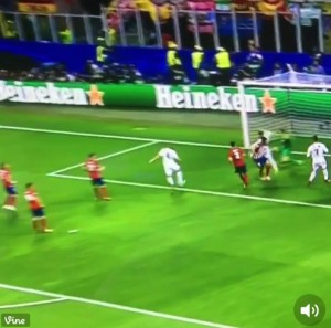 Guarda la versione ingrandita di Sergio Ramos video gol Real-Atletico finale Champions