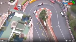 Kimi Raikkonen incidente Gp Monaco F1