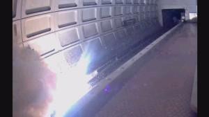 Scintille alla stazione metro, paura a Washington2