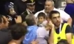 Treviso, ceffone in faccia a questore a partita basket FOTO
