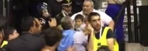 Guarda la versione ingrandita di Treviso, ceffone in faccia a questore a partita basket FOTO
