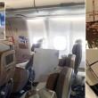 Turbolenza in aereo, passeggeri pregano 31 feriti4