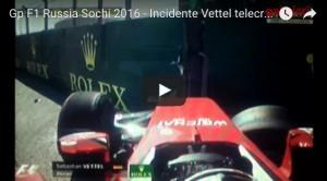 YouTube, Vettel: video incidente Gp Russia Formula 1_3