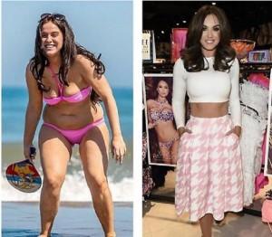 Vicky Pattison. prima e dopo