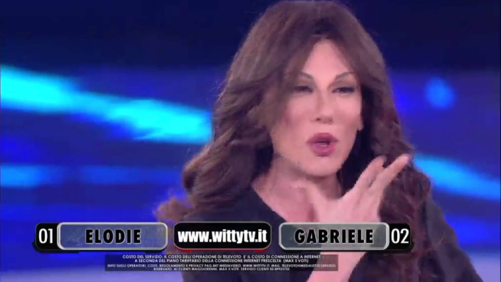 Virginia Raffaele ad Anna Oxa3