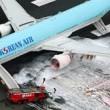 Jet Korean Air, motore a fuoco: paura a bordo