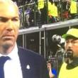 Zidane e il sosia di Rafa Benitez