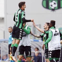 Guarda la versione ingrandita di Sassuolo-Verona 1-0: foto e highlights. Pellegrini gol (foto Ansa)