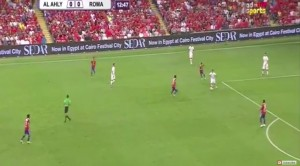 Guarda la versione ingrandita di Al Ahly-Roma 4-3: video gol highlights e foto. Dzeko-Salah