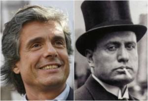 """Guarda la versione ingrandita di Alfio Marchini elogia Mussolini: """"Grande urbanista di Roma"""""""