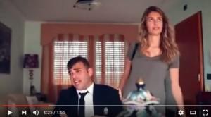 YOUTUBE Valentina Allegri e Edoardo Mecca, parodia Max ma...